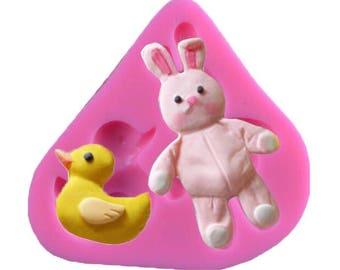 Easter Bunny Rabbit mold