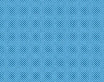 1 Yard Kisses by Doodlebug Design Inc. for  Riley Blake Designs - 210 Medium Blue