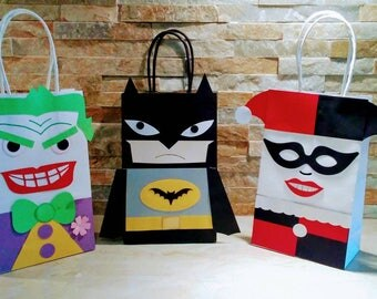 Bat Man Goody Bags/ Bat-Man Party Theme