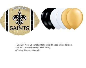 New Orleans Saints Balloons