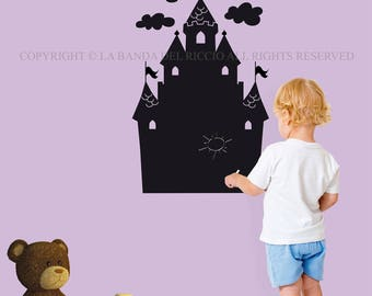 Blackboard Decal Wall decals Wall Stickers Blackboard Castle