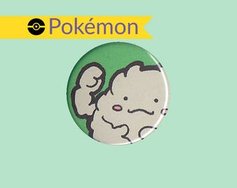 Graveler Badge - kawaii Pokemon,Graveler button, Graveler pin, Pokemon badge, Pokemon button, chibi Graveler, kawaii Graveler