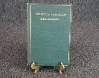 Green Fields And Running Brooks By James Riley Hardcover C. 1892