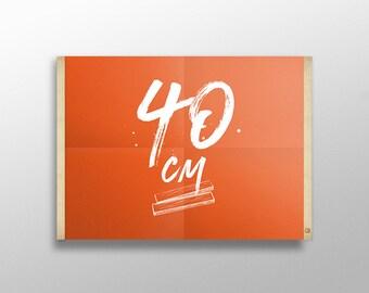 Grip Poster 40 cm | Porte affiche en bois, Cadre sérigraphie, Cadre poster, Kit affiche suspendue, Cadre photo, Cintre affiche film