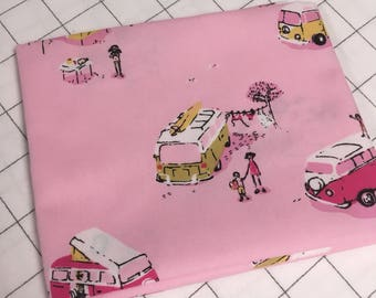 Pink Vans by Heather Ross - Lightning Bug collection