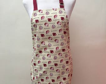 Cream and Gold Children's Cupcake Apron