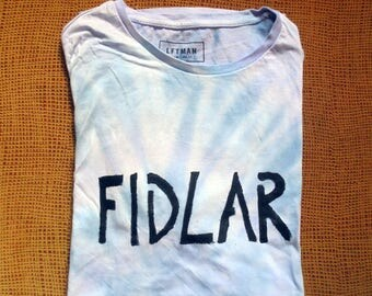 FIDLAR t shirt fuck it dog, life's a risk / band / merch / california / los angeles / together pangea / green day / red hot chili peppers