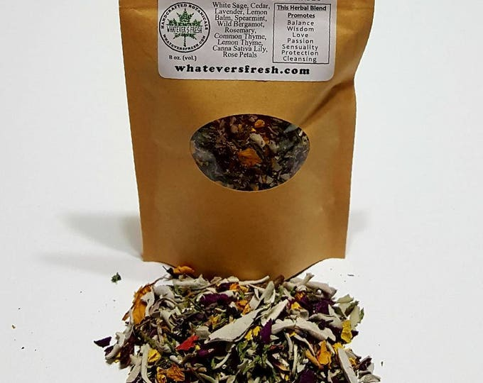 12-PK Smudging Botanical Incense Blend - Renewal and Protection