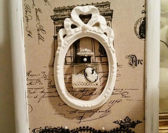 """Large frame 60's inspired baroque collection """"Miss Eugenie"""""""