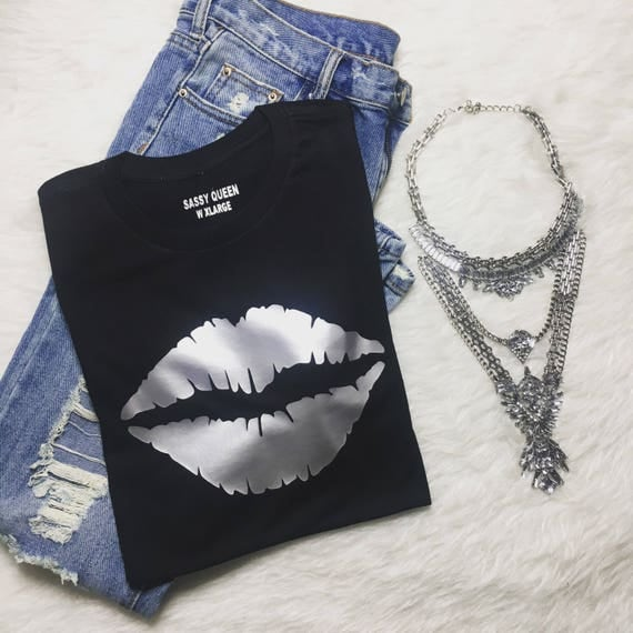 Muah! / Statement Tee / Graphic Tee / Statement Tshirt / Graphic Tshirt / T shirt