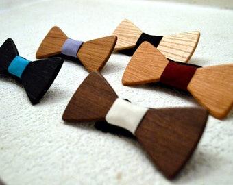 Wodden Bow Tie