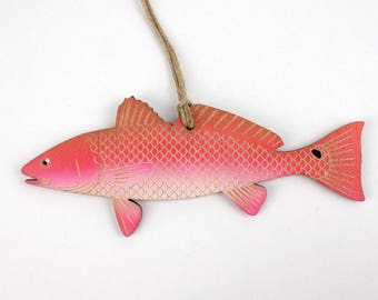 Redfish Christmas Ornament