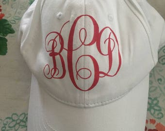 Monogram Baseball Hat (Multiple Styles Available!)
