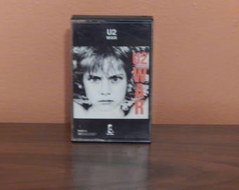 U2 War- cassette tape