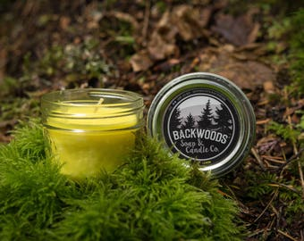 Lemon Mini Mason Soy Candle