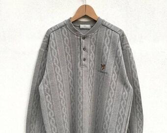 20% OFF Vintage Lyle And Scott Sweatshirt / Lyle And Scott Embroidery Logo / Casual Shirt / Lyle Scott