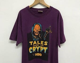 20% OFF Vintage Tales From The Crypt Only On HBO Movie T Shirt,Classic Horror Tv Show T Shirt