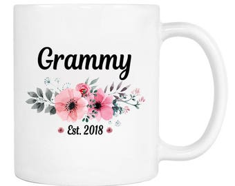 Grammy Est. 2018 - 11 Oz Coffee Mug - Gifts for Grammy - Grammy Mug