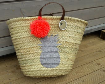Chic and Bohemian Tote basket