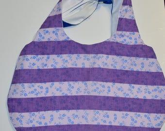 Purple Stripes Purse