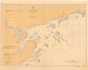 Salem Harbor Map 1897