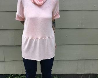 Peachy Knit Cowl