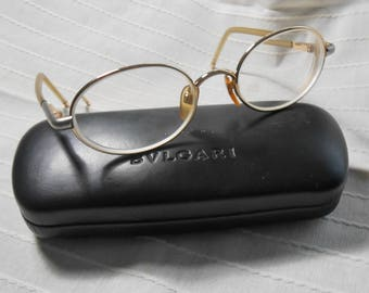 Vintage Bvlgari eyeglasses in their box
