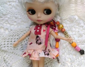 Nightgown night/night/Outfit for doll/doll clothes blythe/pullip/tangkou and other 1/6 scale