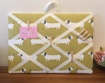 Memory Board, Weiner, French Style, Memo, pinboard, Message board, Dachshund, Notes, Noticeboard, Board, Dogs, Sausage Dog
