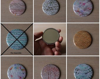 Knitting pattern Pocket mirror