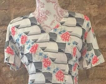 Vintage day dress size 14/16