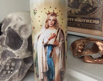 St Chrsea Handler Prayer Candle