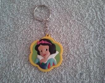 Keychain or handbag snow white