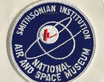 LAST ONE! Smithsonian Institution National Air and Space Museum Vintage Souvenir Travel Patch