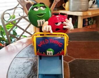 Wild Thing Roller Coaster M&M candy dispenser