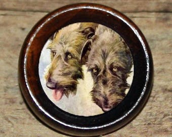 IRISH WOLFHOUND dog Pendant or Brooch or Ring or Earrings or Tie Tack or Cuff Links