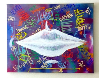 Pretend (It's You) an original 16x20 in acrylic painting on canvas