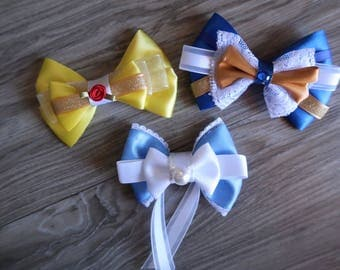 Beauty and the Beast Inspired Hair Bows