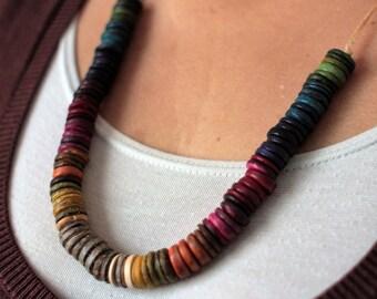 Collier perles de Coco