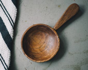 Hand carved Walnut spoon