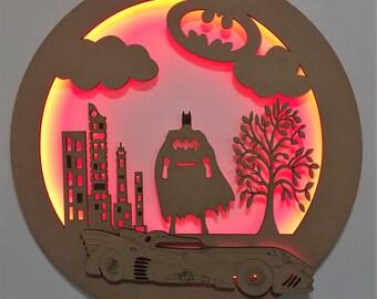 Batman LED Light Wall Hanging