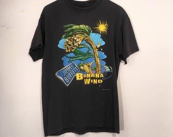 Vintage 90's Jimmy Buffet Tour Shirt Banana Wind Large