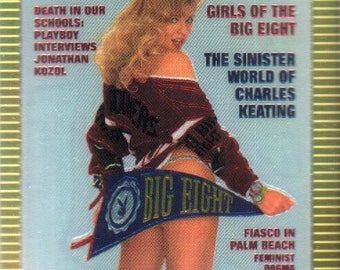 MATURE - Playboy Trading Card Chromium Cover Cards III - #297 April 1992