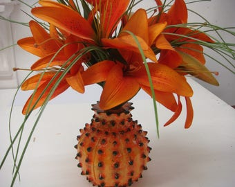Vase handmade natural design. suitable for all types of flowers.