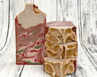 Autumn Soap- Pumpkin Apple Spice Soap - Homemade Soap - Fall Soap - Artisan Soap - Handcrafted Soap Bar - Scented Soap - Pumpkin Spice Soap