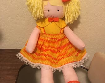 Beautiful Stuffed doll with clothes