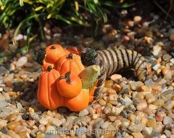 Fall Cornucopia for Miniature Garden, Fairy Garden