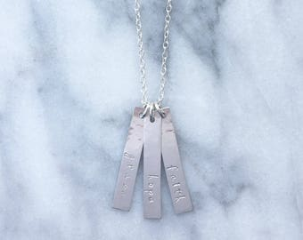 Grace Hope Faith Necklace