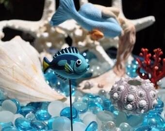 Blue Tang Fish Pick