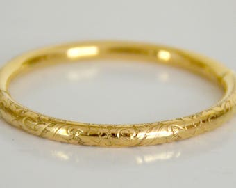 """Bangle is oval gold plated """"Oria"""", 18 g, free shipping"""